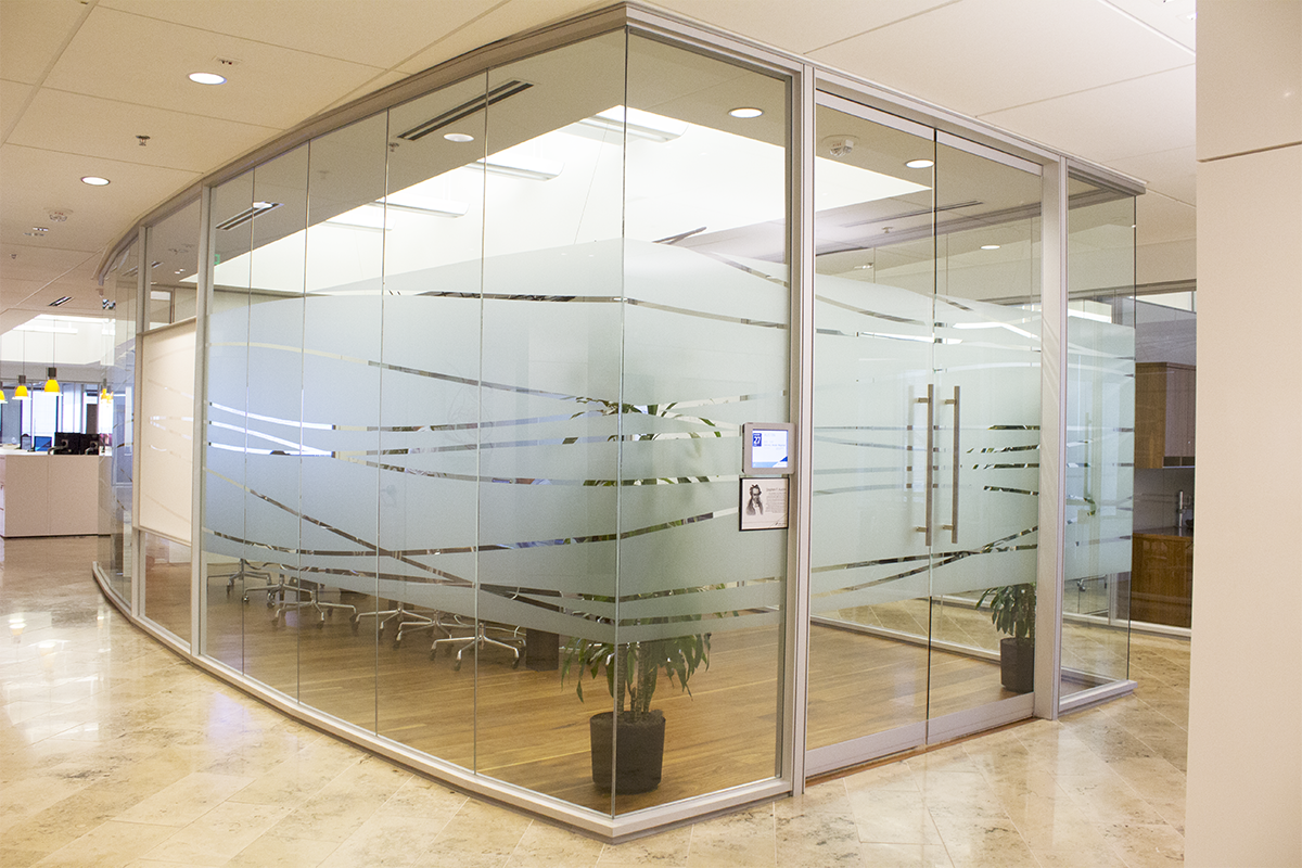 "Frosted ""Glass"" Window Film"